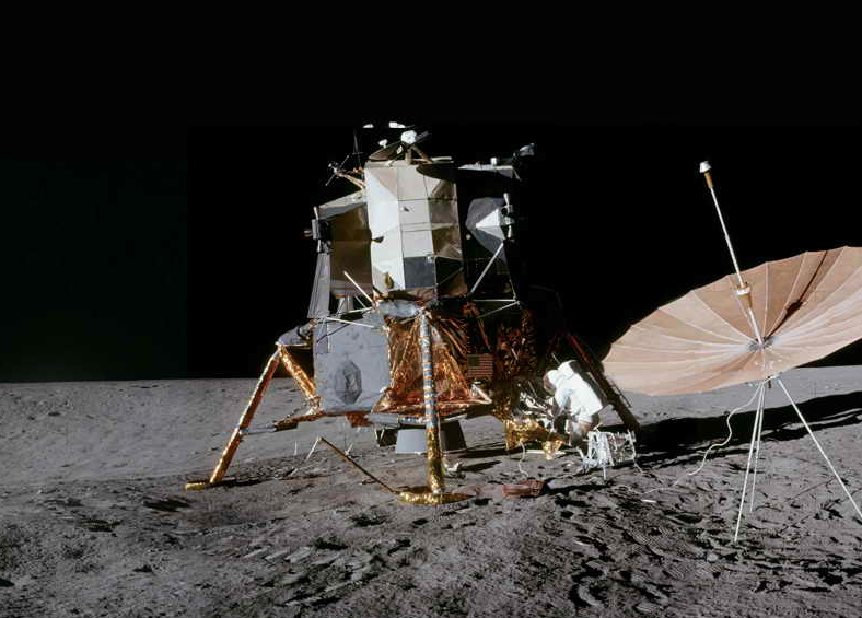 Apollo 12 lunar module (courtesy of NASA)