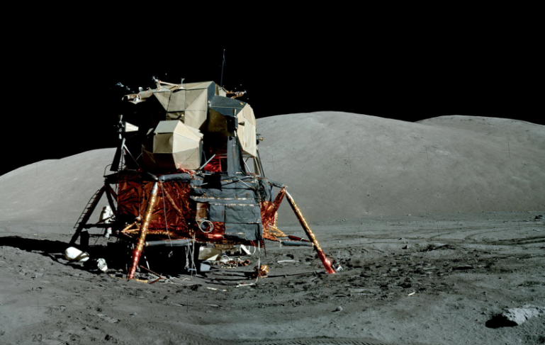 Apollo 17 lunar module - Challenger (courtesy of NASA)