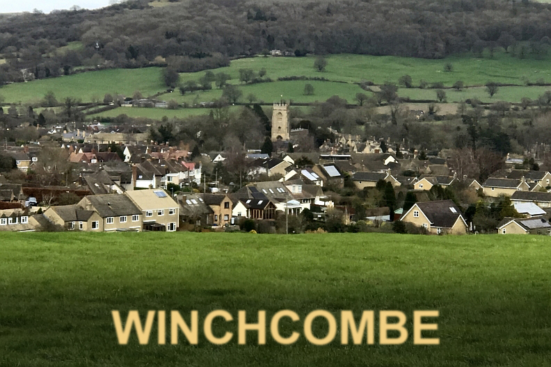 View of Winchcombe, where fragments of the meteorite were found
