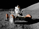 Apollo 17 Rover (courtesy of NASA)