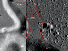 Apollo 15 sample locations