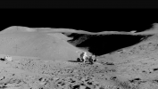 Hadley Rille (courtesy of NASA)