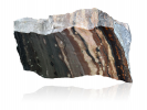 Banded manganese ore