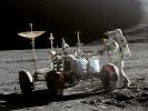 Apollo 15 rover (courtesy of NASA)